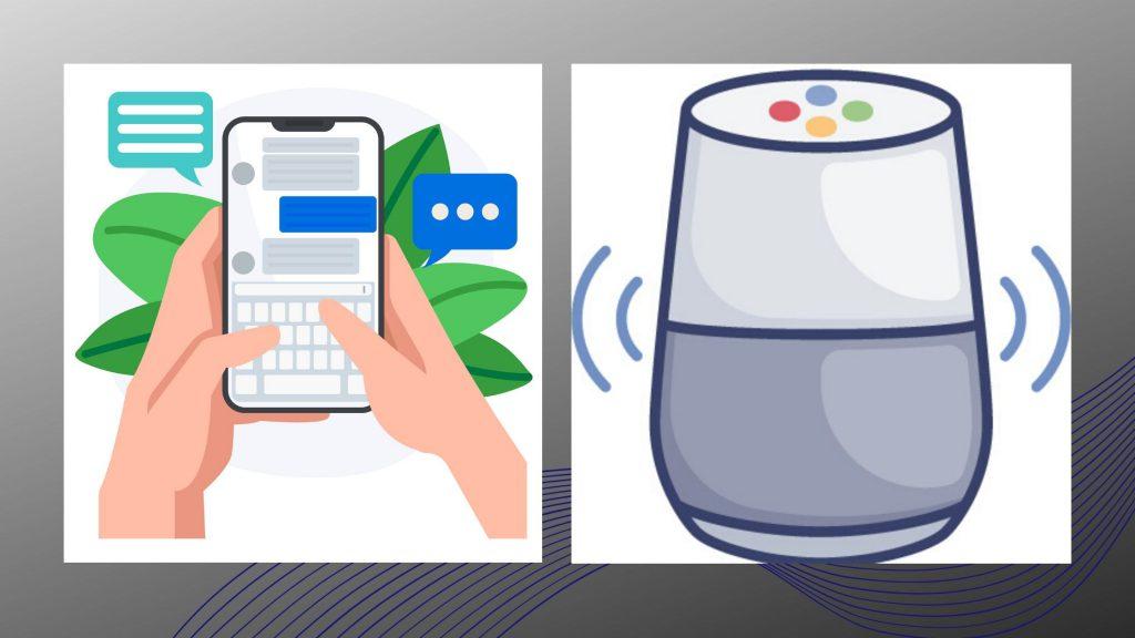 chat vs voice skills