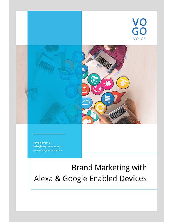 brand marketing with Alexa_VOGO Voice